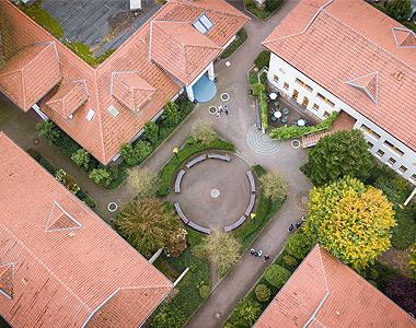 Luftaufnahme des EnergieCampus