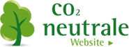 CO2 neutrale Website - grüner Baum