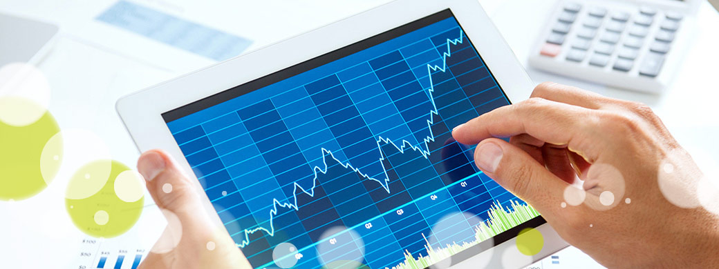 Leistungskurve auf Tablet EWE Netz