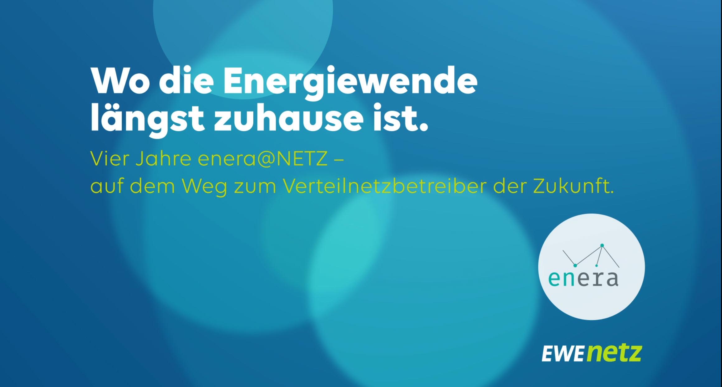 enera – der nächste Schritt zum intelligenten Verteilnetzbetreiber der Zukunft.